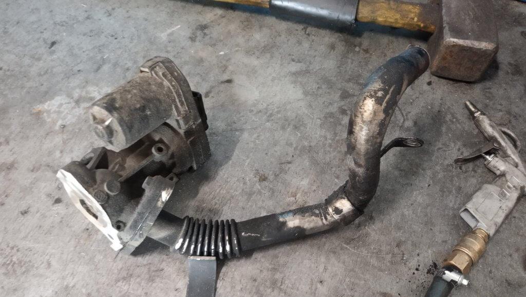 Peugeot Boxer 3 Удаление клапана EGR