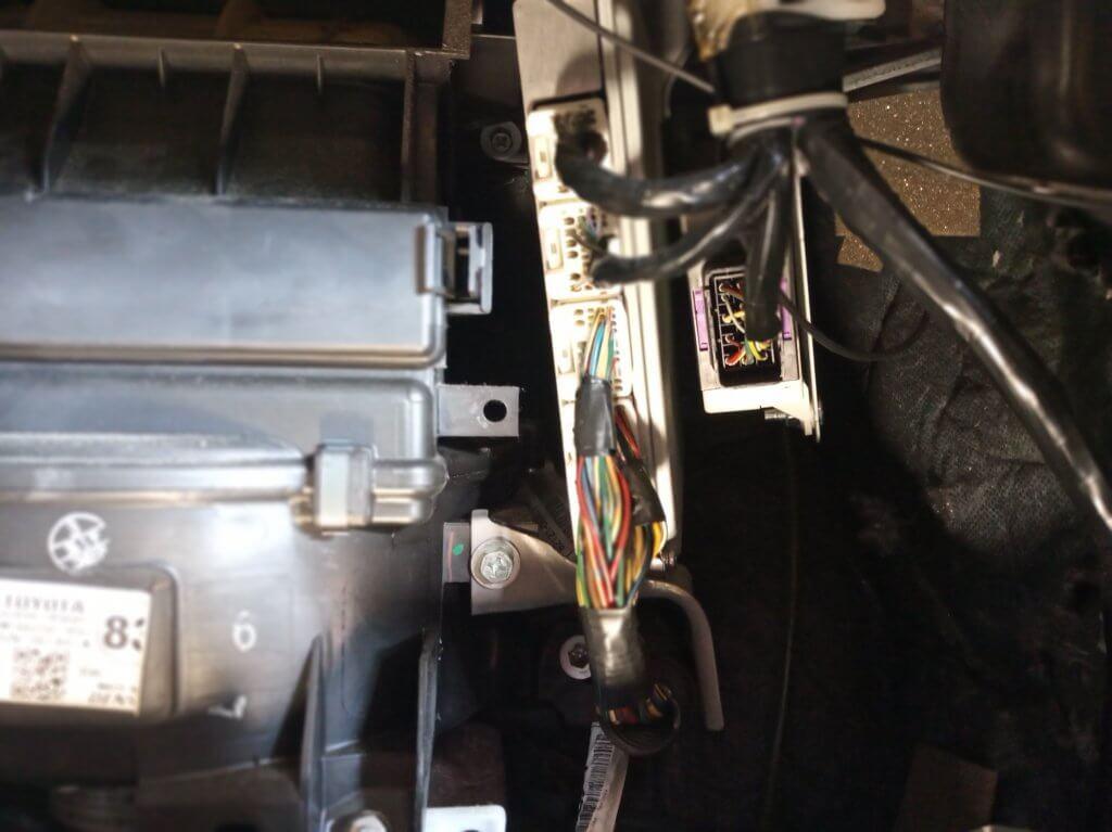 Toyota Avensis  D4D ECM remover