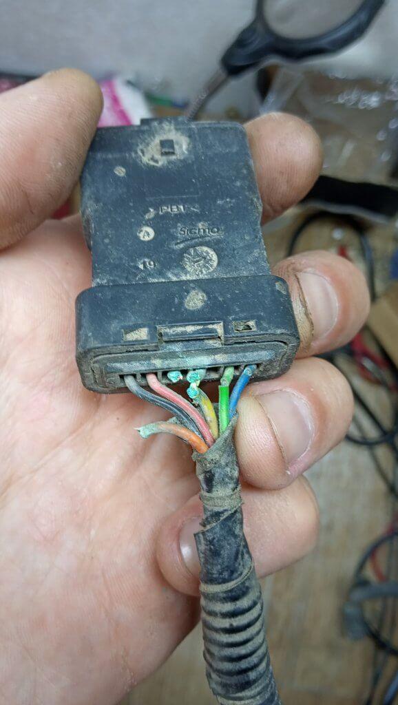 car wiring repair before