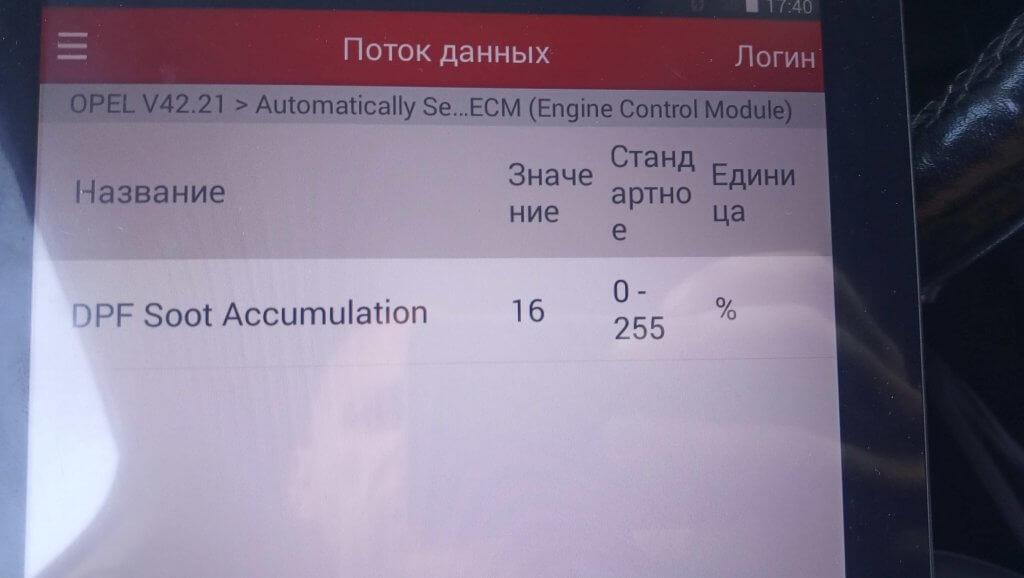 Контроль количества сажи через сканер