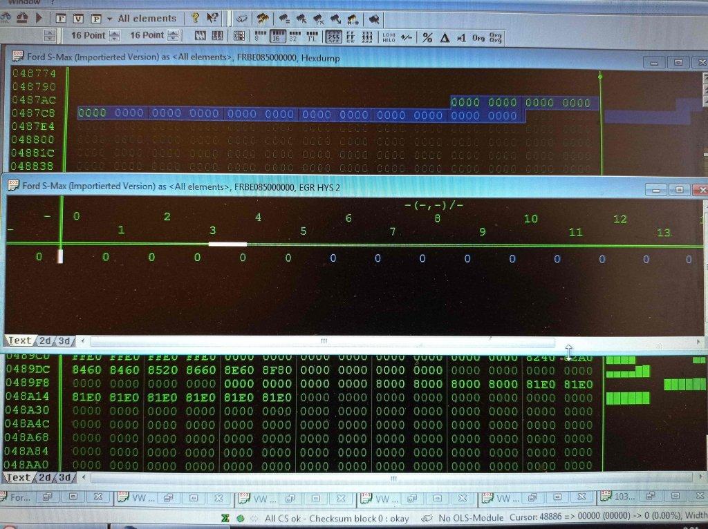 Удаление клапана EGR в Winols
