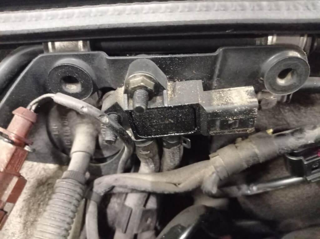AUDI A4 B7 Удаление сажевого фильтра