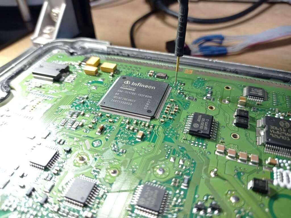 Audi 1.8 TFSI Bosch MED 17.5 Чтение Boot