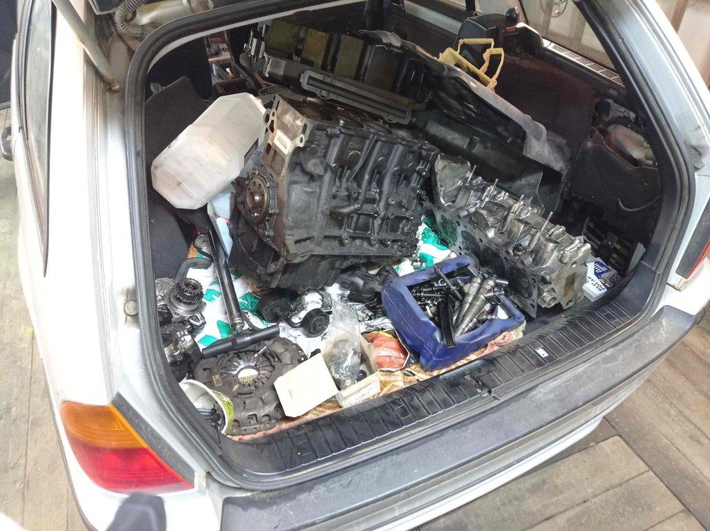BMW E46 не заводится после замены двигателя