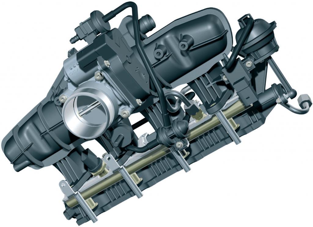 Впускной коллектор TFSI