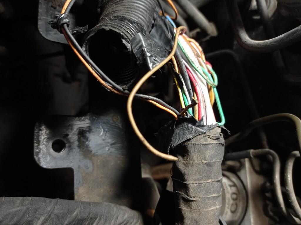 Ремонт жгута ЭБУ двигателя Hyundai