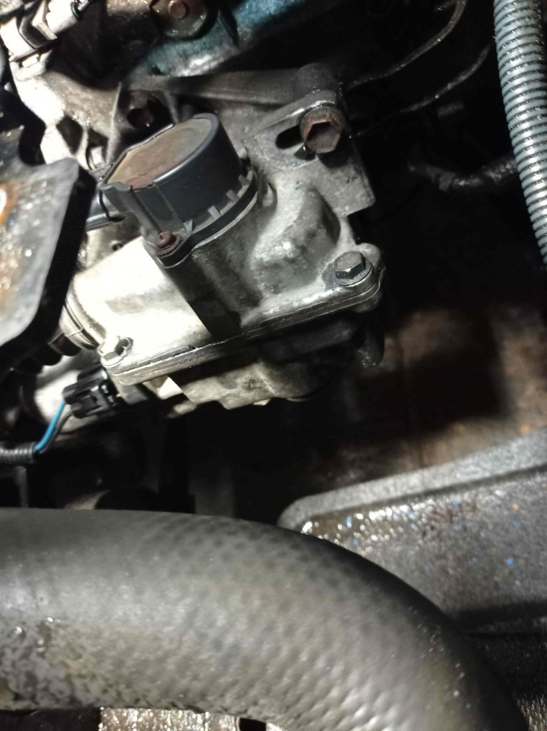 Toyota где установлен Актуатор сцепления