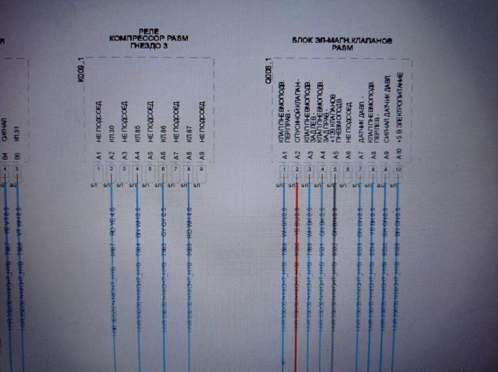 WIring Diagram PORSCHE PASM