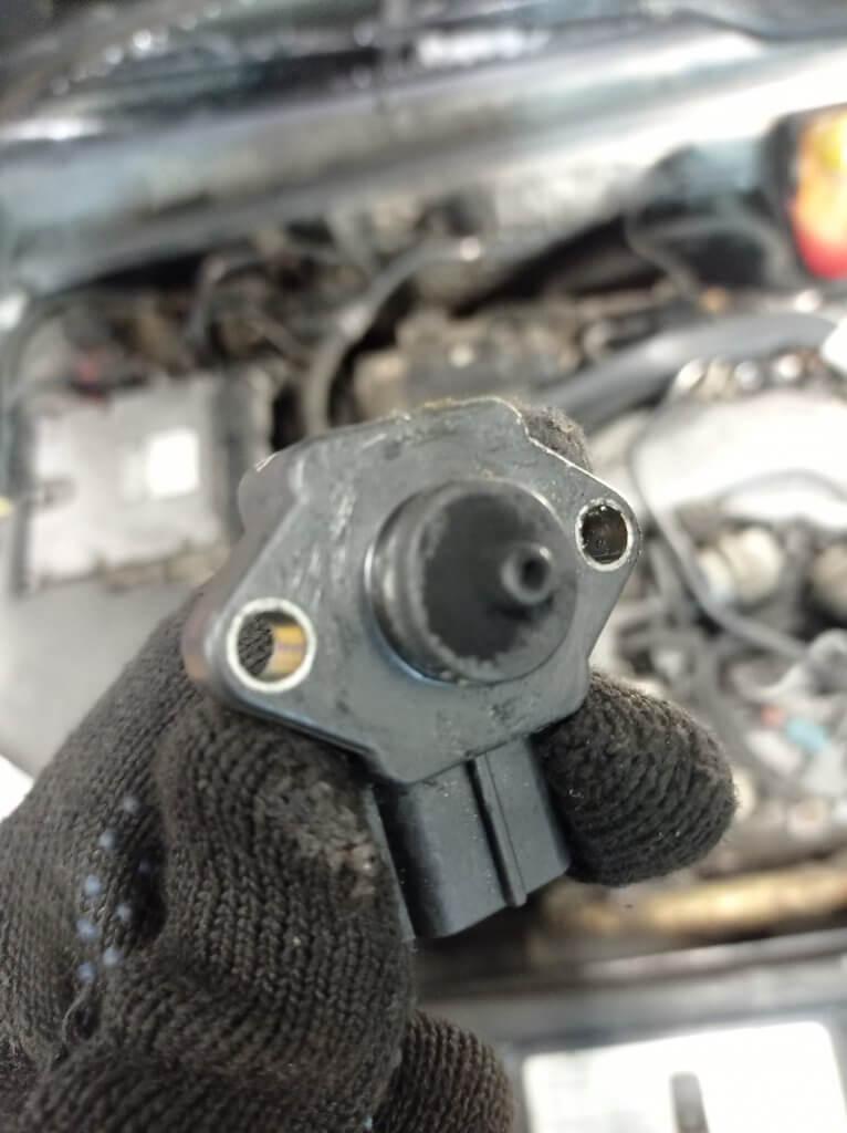 Чистка датчика давления Opel