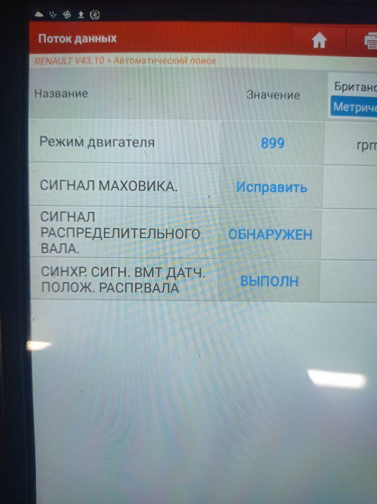 Renault Master 3 DCI Синхронизация