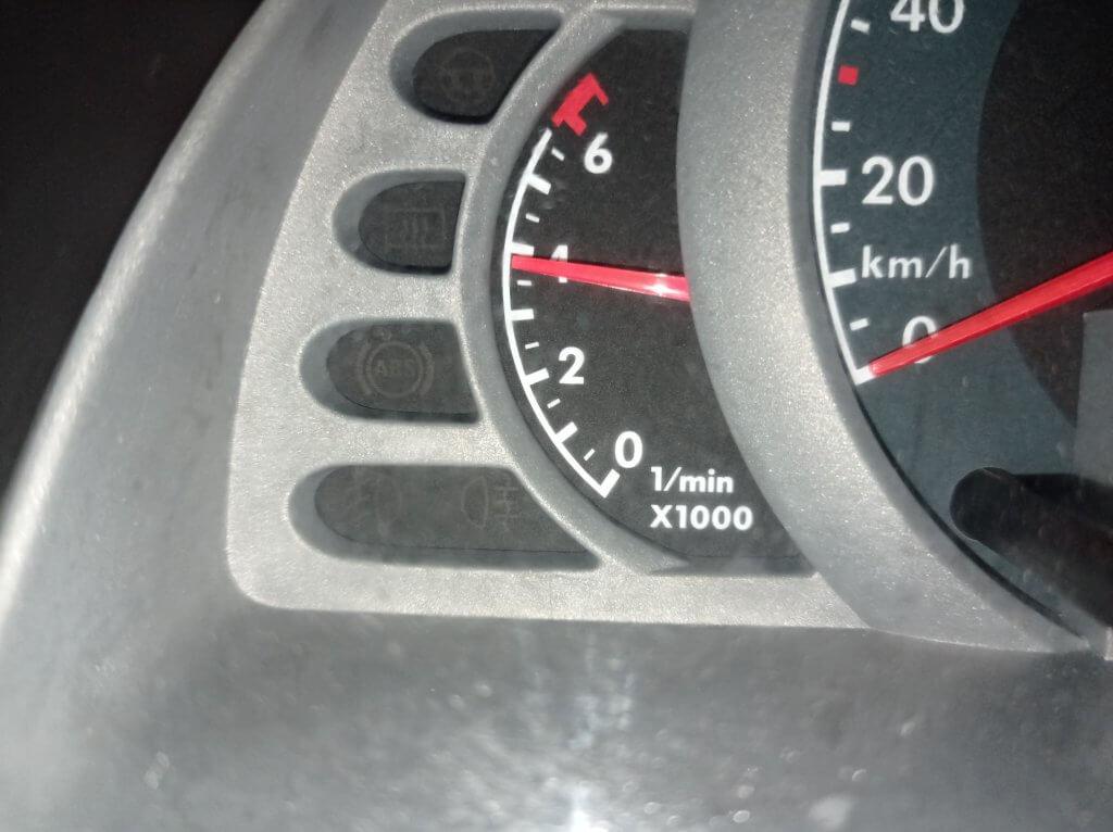 VW FOX Ошибка ABS 00597