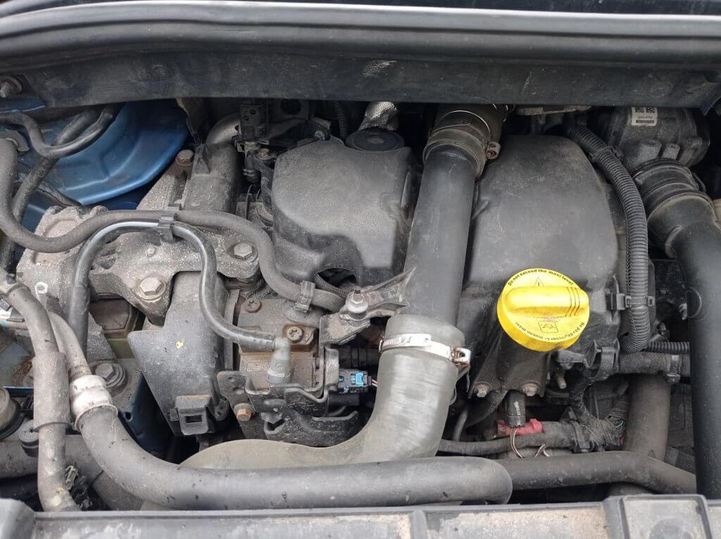 Renault 1.5 DCI DPF Удаление