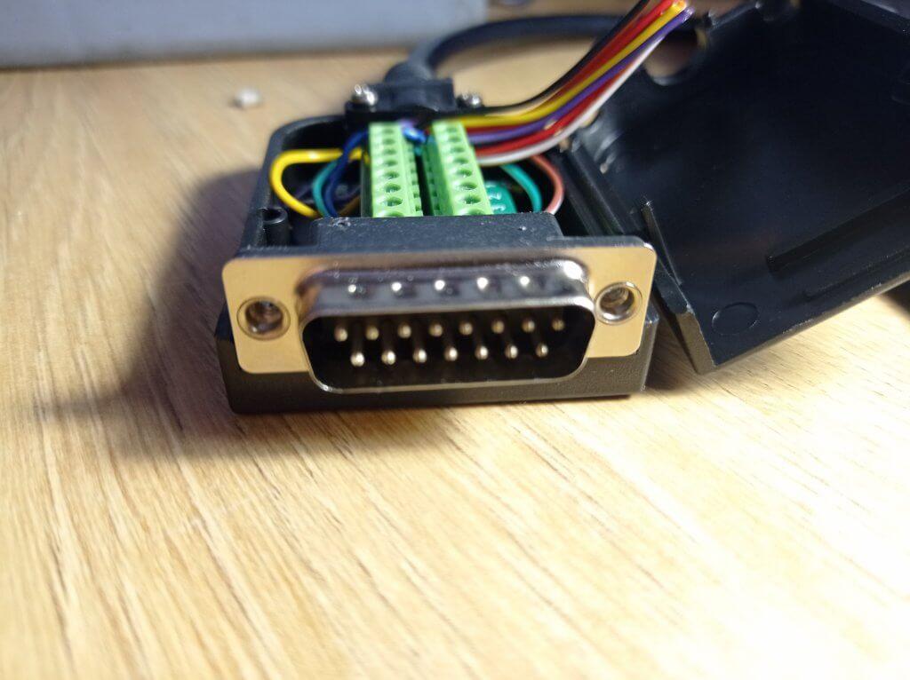 OBD-DB15 KTAG 144300T108 Diagram