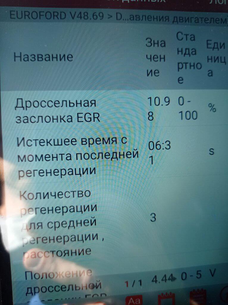 2.0 HDI отключение клапана EGR