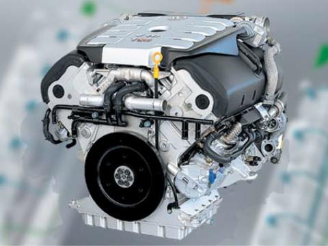 Touareg V10 TDI turbocharger