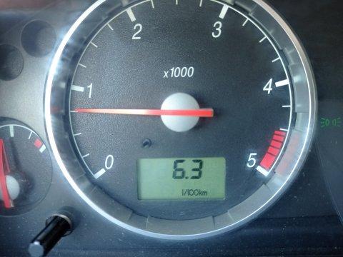 Ford Mondeo Расход топлива после