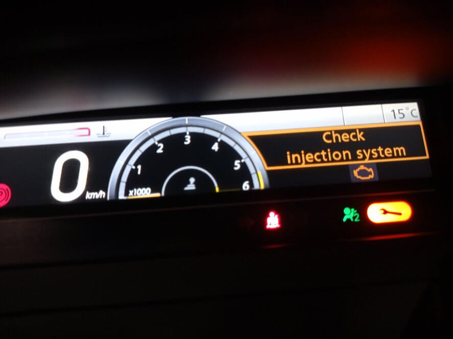 Renault Check Injection System