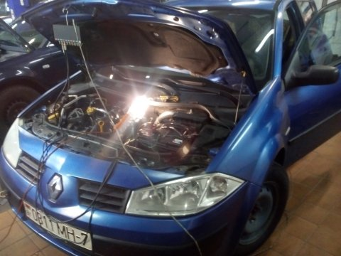 Renault Megane 2 Не заводится