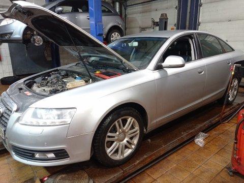 Audi A6 3.0 TDI Удаление EGR
