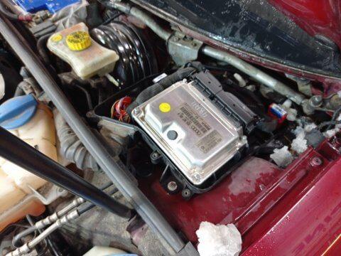 Audi A6 2.5 TDI замена блока управления двигателем