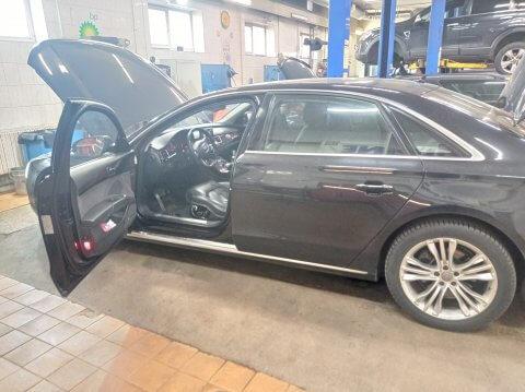 Audi A8 TFSI Дергается при разгоне