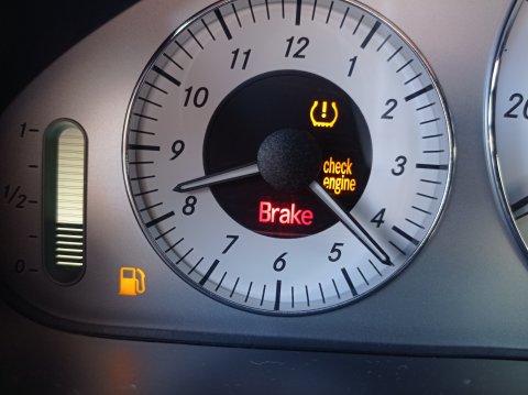 MB W211 Check engine
