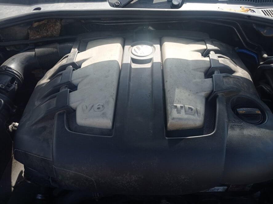VW Touareg 3.0 TDI Ошибка P0235